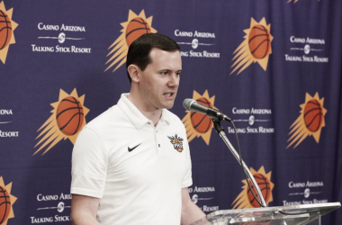Ryan McDonough, general manager de los Suns | Foto: @Suns
