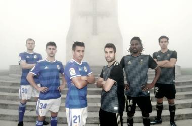 El Real Oviedo ya tiene equipaciones   Imagen: Real Oviedo