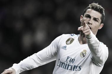 Cristiano Ronaldo celebrando un gol. Foto: UEFA.com