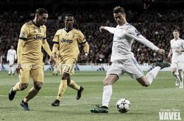 Cristiano Ronaldo enfrentándose a la Juventus | Foto: Daniel Nieto (VAVEL)