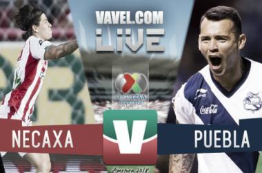Necaxa vs Puebla en vivo online en Liga MX 2018 (0-0)
