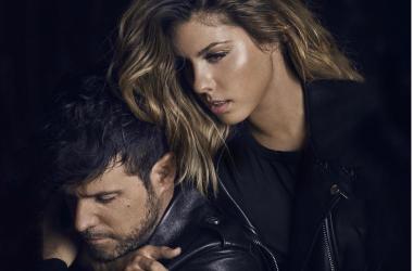 Portada del single NO! de Miriam Rodríguez y Pablo López.
