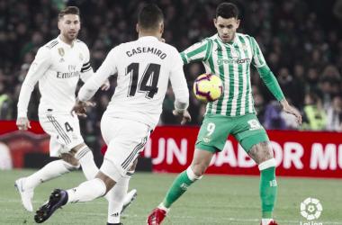 Casemiro y Ramos. Imagen: La Liga