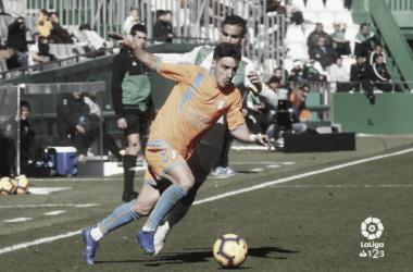 El MVP del Rayo Majadahonda, Isaac Carcelén. www.laliga.es