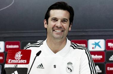 Solari en rueda de prensa / Foto: Real Madrid.