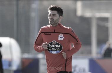 Vítor Silva se entrena en Abegondo // RCDeportivo