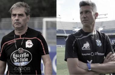 Natxo González y Josep Lluís Martí // @RCDeportivo - @CDTenerife