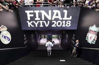 La última imagen de Cristiano Ronaldo con la camiseta del Real Madrid. Foto: UEFA.com