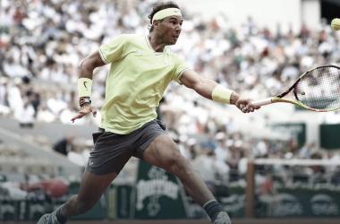 Rafa Nadal en Roland Garros 2019 | Foto: ATP