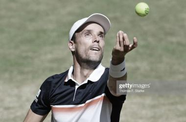 Roberto Baustista en el ATP de Halle 2019   Foto: Getty Images