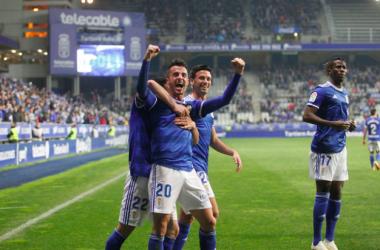El 'MVP' azul, Sergio Tejera | Imagen: Real Oviedo