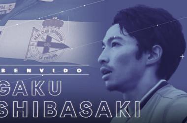 Shibasaki es el cuarto fichaje del nuevo Dépor // RCDeportivo