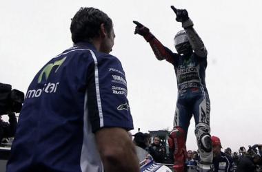 Jorge Lorenzo, victoria en Motorland 2014. Foto: motogp.com
