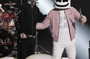 Marshmello actuando con Bastille en los pasados MTV EMA 2018 // Instagram: MTV EMA