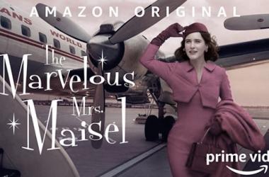 Rachel Brosnahan retratada por Annie Leibovitz para The marvelous Ms.Maisel // Fuente: Instagram de la actriz