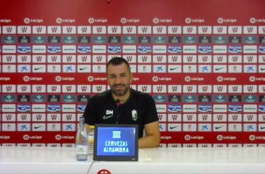 """Diego Martínez: """"Creemos en nosotros, tenemos la ilusión de jugar en tres competiciones"""""""