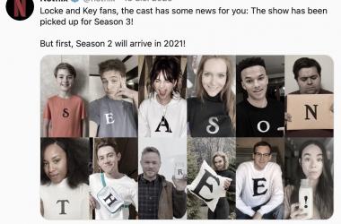 'Locke & Key' renueva una tercera temporada