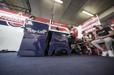 Box de Gresini Racing / Fuente:gresiniracing.com