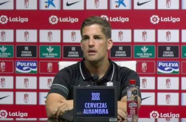"""Robert Moreno: """"El empate es justo por lo que se ha visto sobre el terreno de juego"""""""