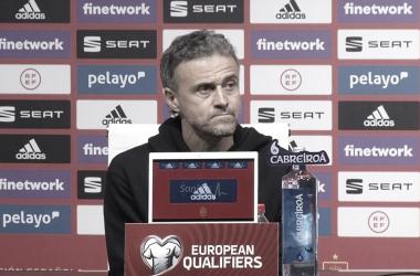 """Luis Enrique avalia empate da Espanha: """"Resultado não merecido e que não esperávamos"""""""