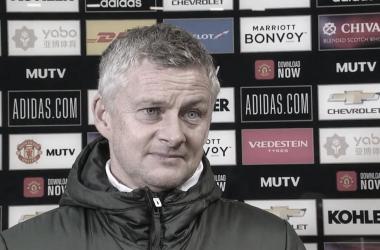 Após primeiro triunfo em casa no campeonato, Solskjaer ressalta que United tem que 'jogar melhor'