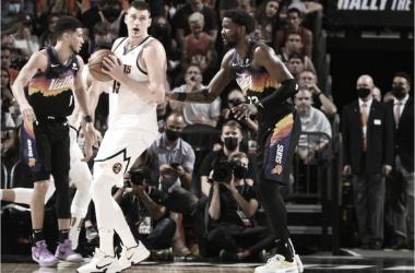 Melhores momentos de Denver Nuggets x Phoenix Suns (110-98)