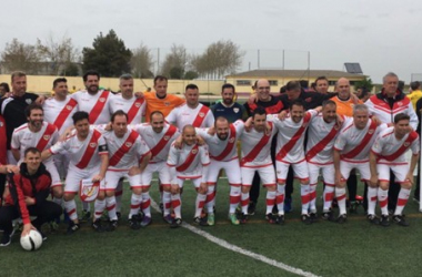 Veteranos del Rayo Vallecano. Fotografía: Rayo Vallecano SAD