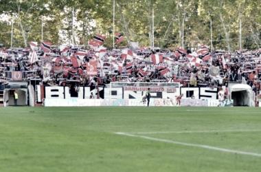La afición del Rayo Vallecano durante un partido disputado en Vallecas. Fotografía: Rayo Vallecano S.A.D.