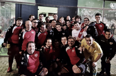 Jugadores de las categorías del Rayo Vallecano | Fotografía: Rayo Vallecano S.A.D.