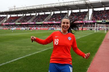 Camila Sáez convocada para la selección chilena