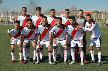 Jugadores del Rayo Vallecano B | Fotografía: Rayo Vallecano S.A.D.