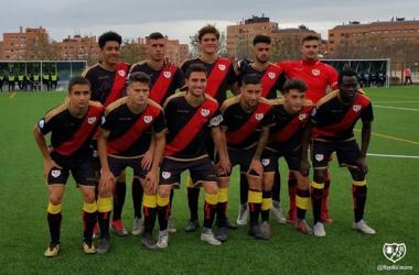 Jugadores del Rayo B | Fotografía: Rayo Vallecano S.A.D.