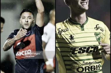 Lucas Janson vs Tomas Pochettino (Fotomontaje).