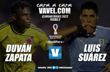 Cara a cara: Duván Zapata vs Luis Suárez
