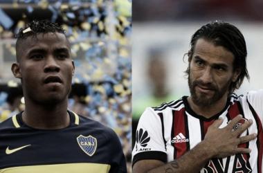 Barrios y Ponzio, dos de los jugadores que son caracterizados por el sacrificio | Fotomontaje: Nicolás González