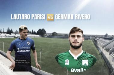 Germán Rivero y Lautaro Parisi: las llaves del gol