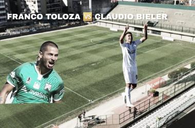 Franco Toloza y Claudio Bieler, las llaves del gol