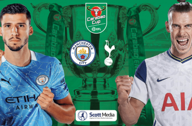 As it happened: Manchester City 1-0 Tottenham Hotspur: Citizens win the 2021 Carabao Cup