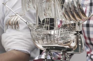 El trofeo de la pasada edición | Foto: Ayuntamiento de Cartagena