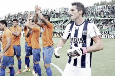 Mauricio Caranta: ''Me equivoqué, di mal la pelota y nos hicieron el gol''