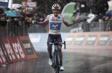 Carapaz se doctora en el Giro