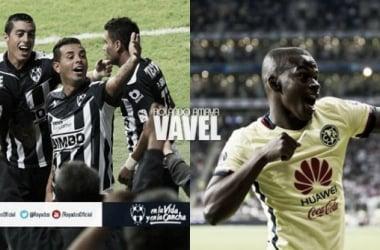 Cardona y Carlos Darwin marcaron en el Monterrey–América