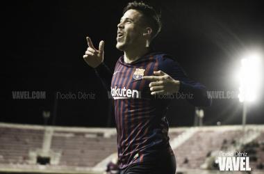 Carles Pérez es el máximo goleador del filial con siete tantos / Foto: Noelia Déniz (VAVEL.com)