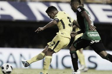 Carlitos en la goleada / Foto Twitter: Boca Jrs. Oficial