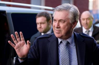 Carlo Ancelotti, nuevo entrenador del Everton
