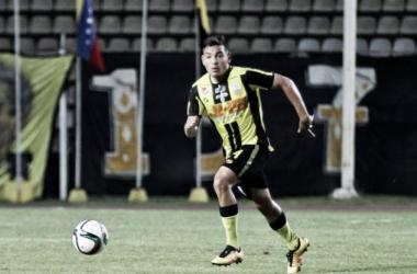 Deportivo Táchira FC castiga a Carlos Cermeño ante reciente polémica / Foto: Meridiano