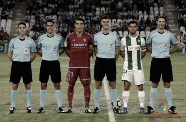 Álvaro Moreno Aragón, el colegiado frente al FC Barcelona B