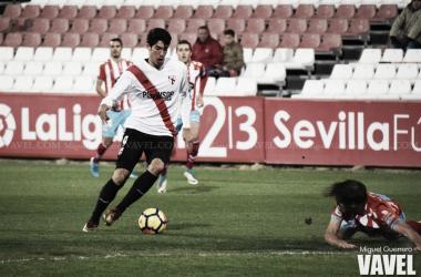 Carlos Fernández en su etapa en el Sevilla Atlético | Foto: Miguel Guerrero / VAVEL