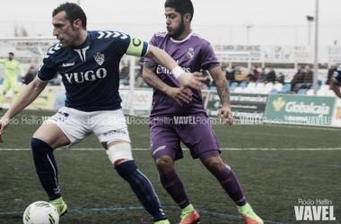 Carlos García en un partido frente al RM Castilla | Foto VAVEL: Rocío Hellín