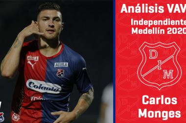 Análisis VAVEL, Independiente Medellín 2020: Carlos Monges